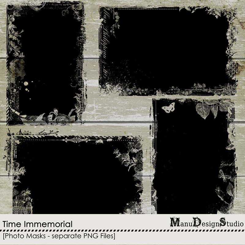Time Immemorial - Photo Masks