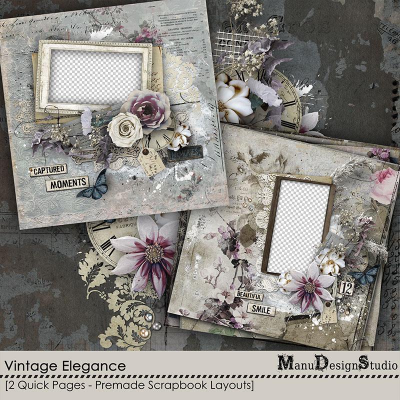 Vintage Elegance - Quick Pages