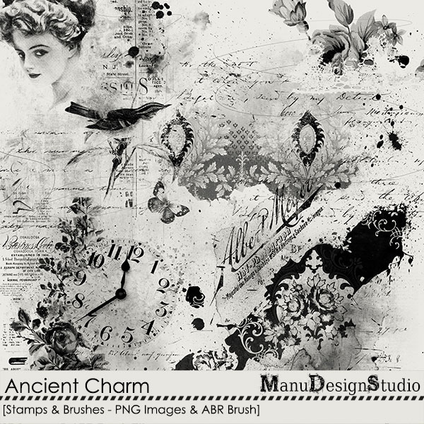 Ancient Charm - Stamps