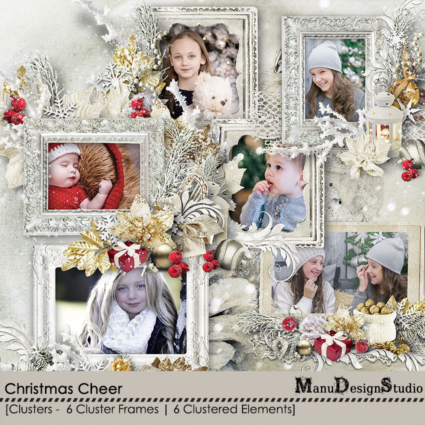 Christmas Cheer - Clusters