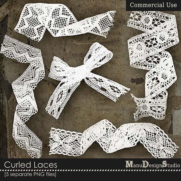 Curled Lace - CU