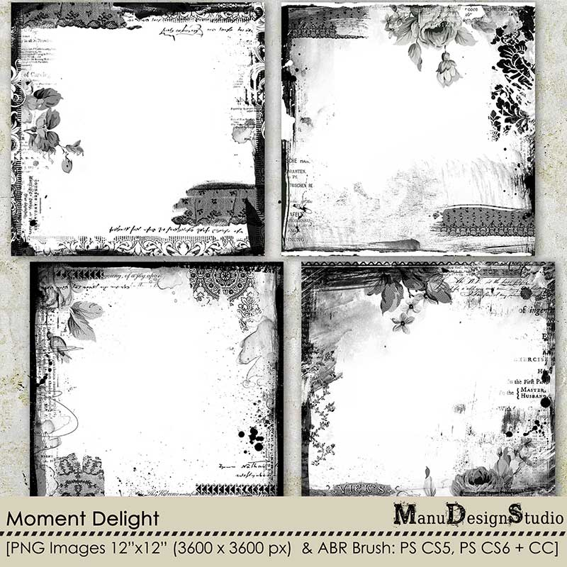 Moment Delight - Page Borders