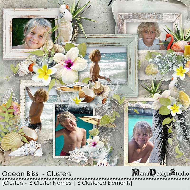 Ocean Bliss - Clusters