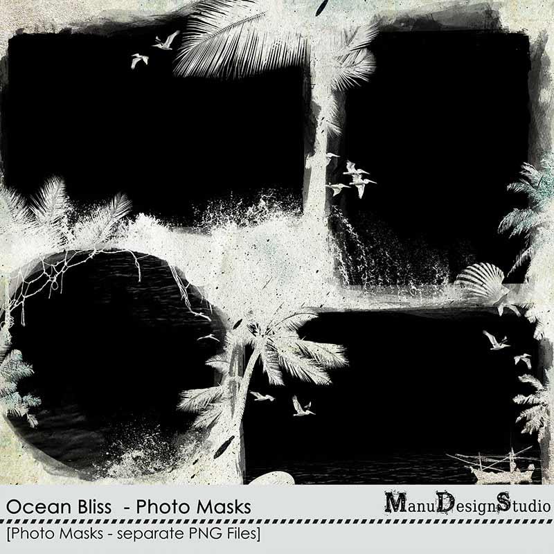 Ocean Bliss - Photo Masks