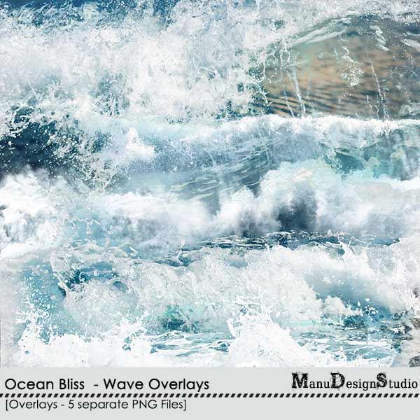 Ocean Bliss - Wave Overlays