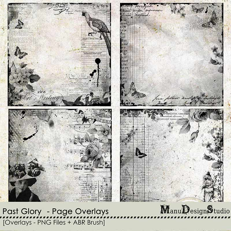 Past Glory - Page Overlays