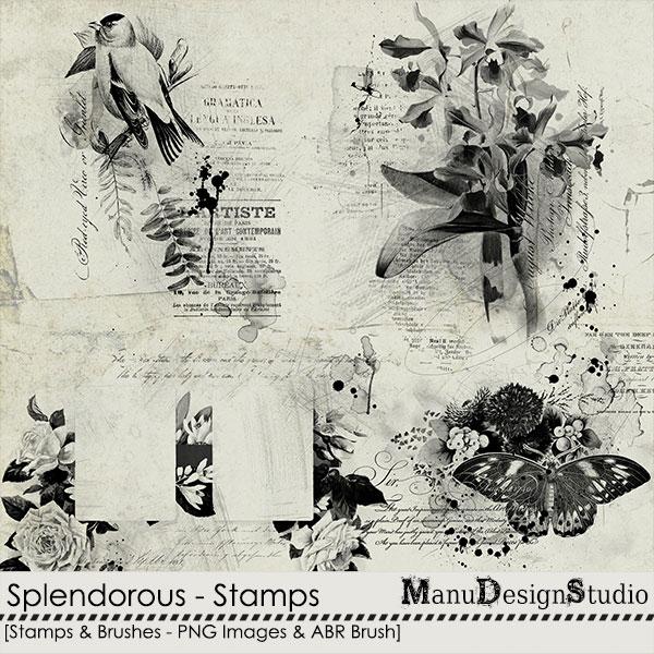 Splendorous - Stamps & Brushes