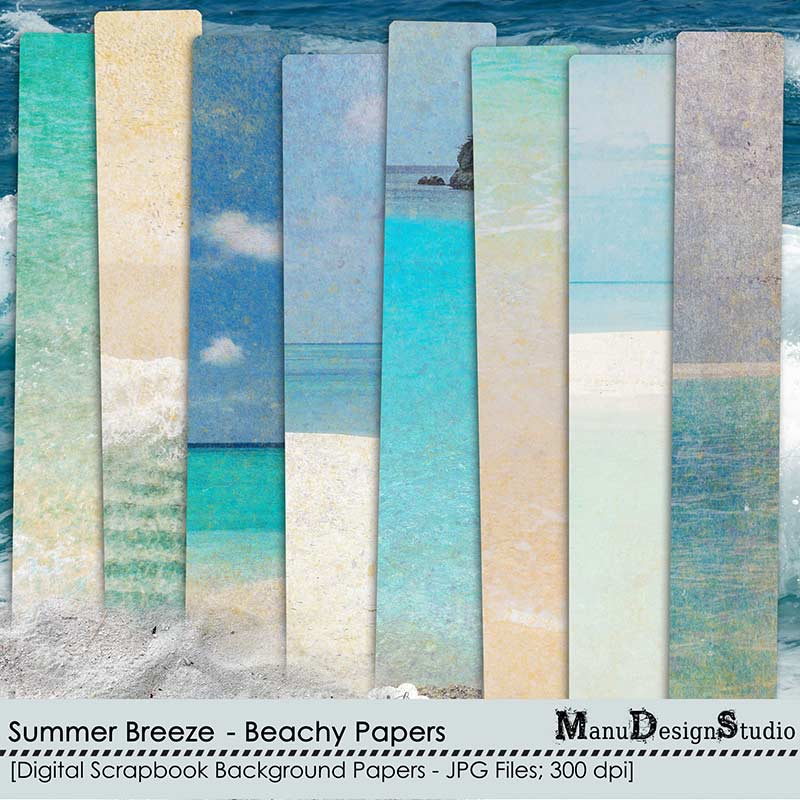Summer Breeze - Beachy Papers