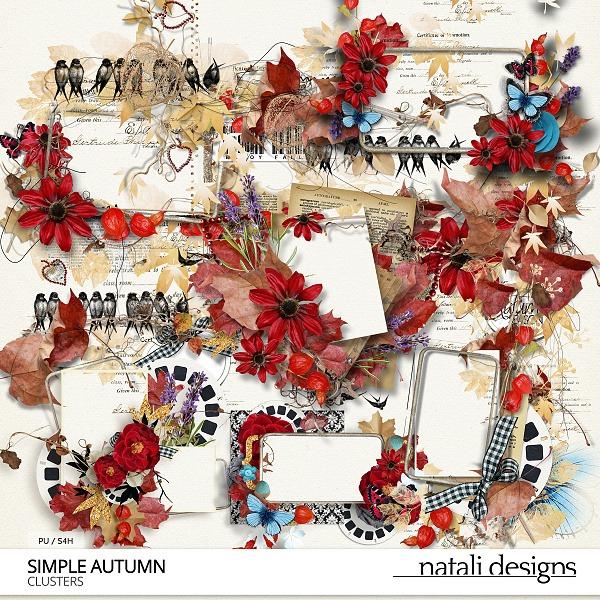 Simple Autumn Clusters