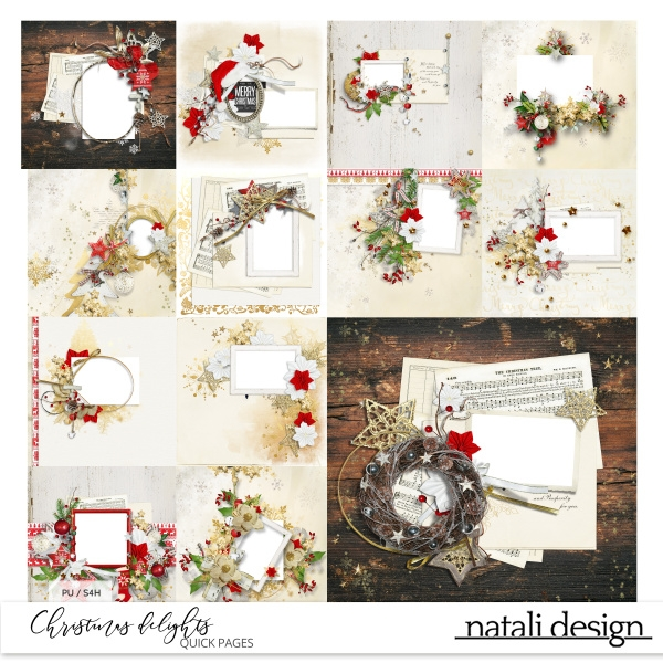 Christmas Delights Quick Pages