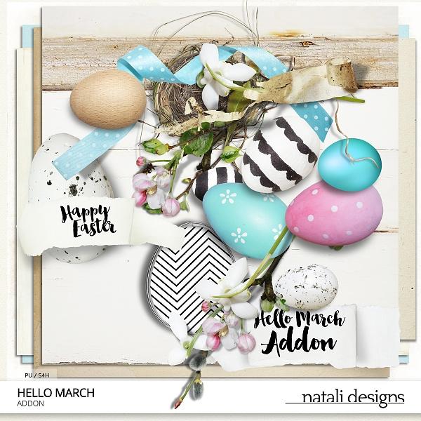 Hello March Addon