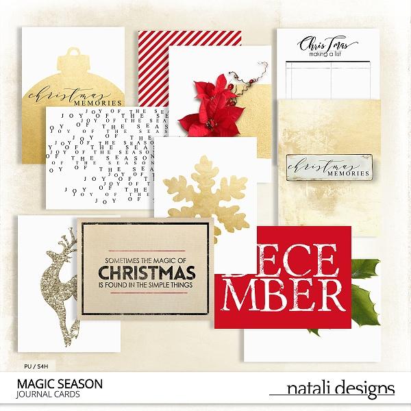 Magic Season Journaling Cards