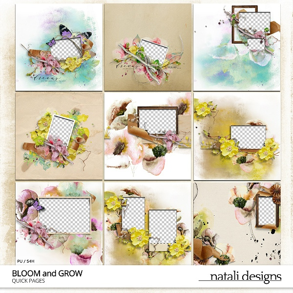 Bloom and Grow Quick Pages