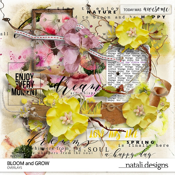 Bloom and Grow Overlays