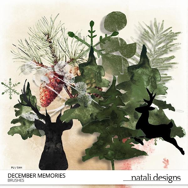 December Memories Brushes