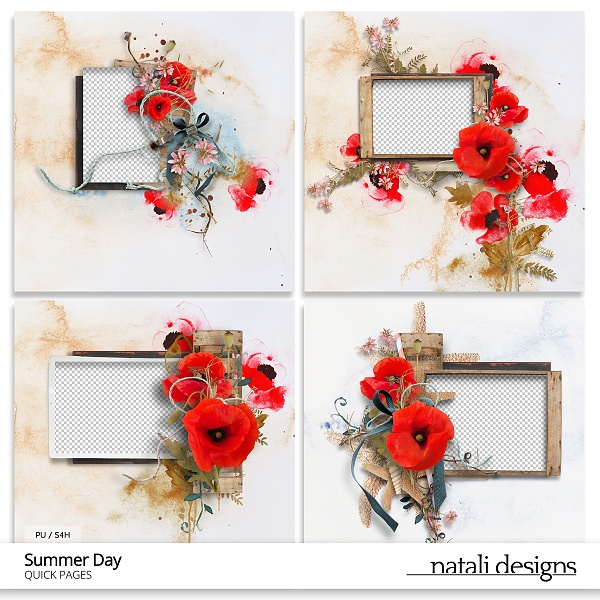 Summer Day Quick Pages