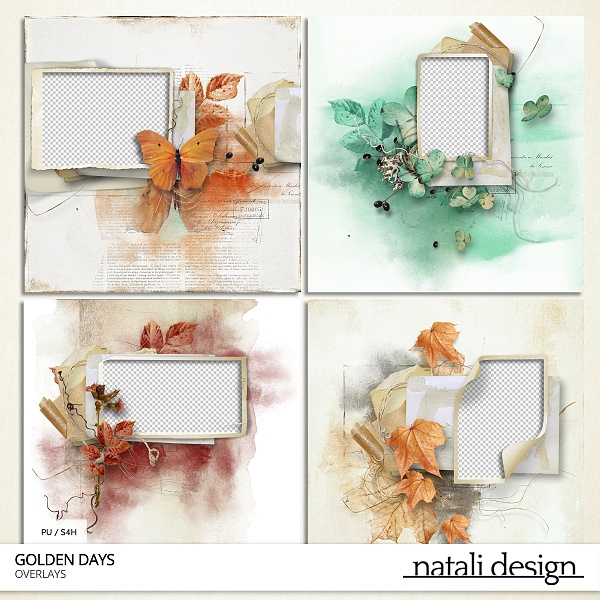 Golden Days Quick Pages