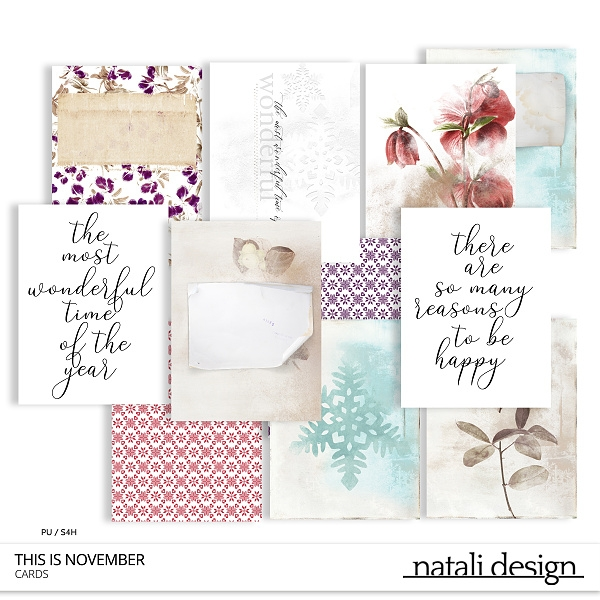 This is November Cards