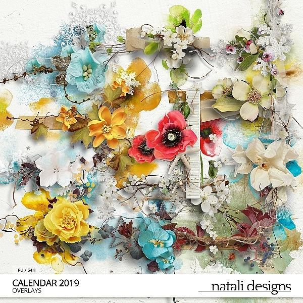 2019 Calendar Overlays