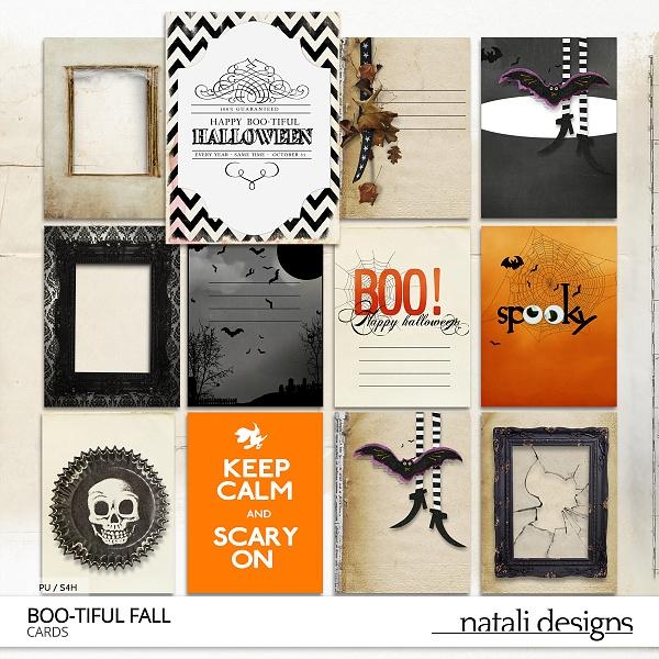 Boo-tiful fall Journal Cards