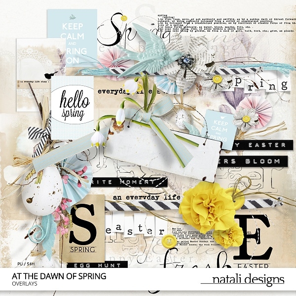 At the dawn of spring Overlays