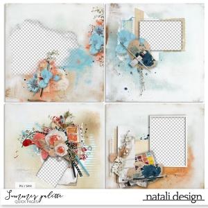 Summer Palette Quick Pages