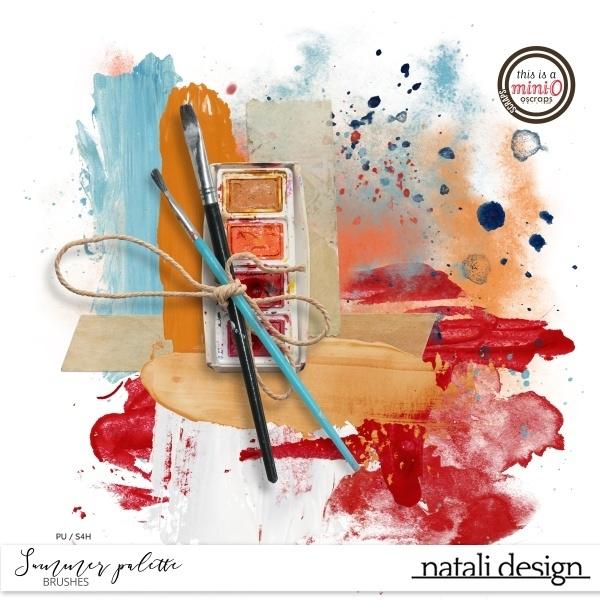Summer Palette Brushes