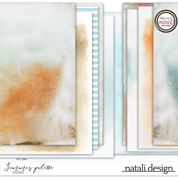 Summer Palette Papers