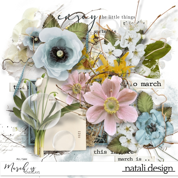 March is Overlays