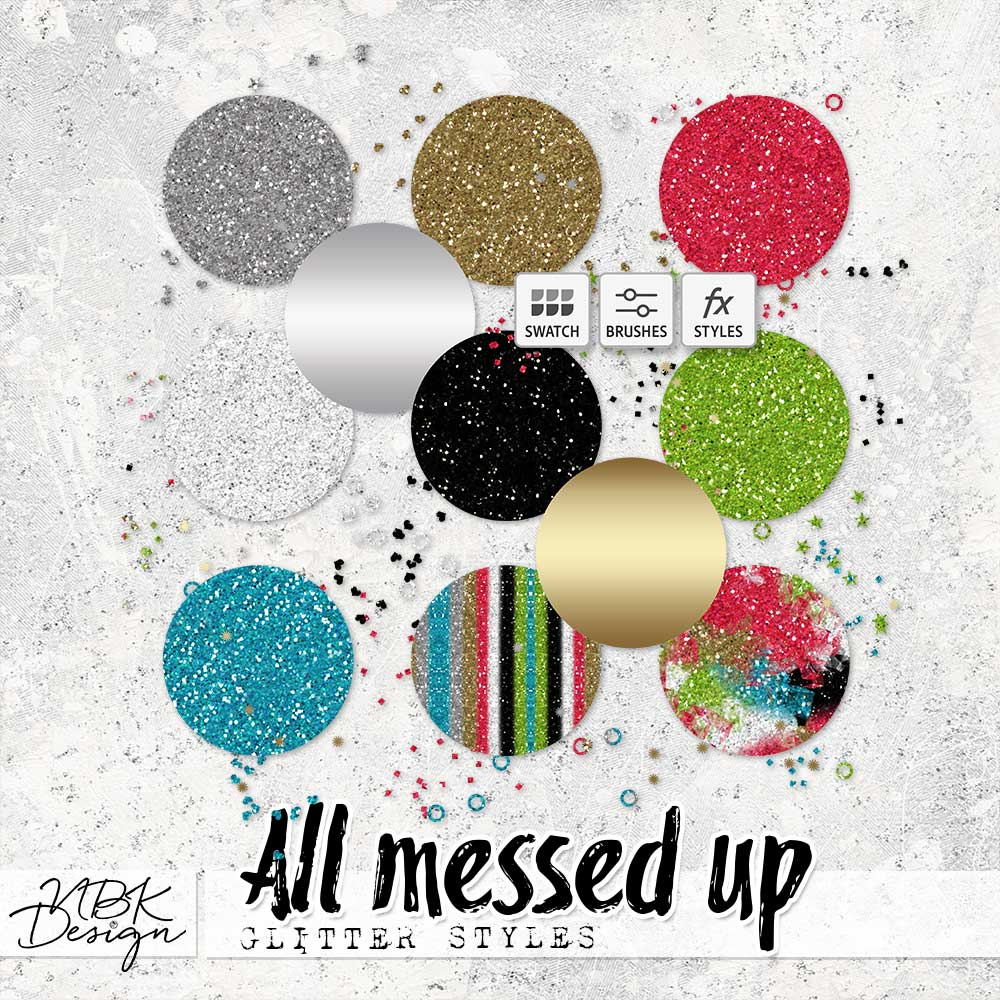 All messed Up {Glitter-Styles}