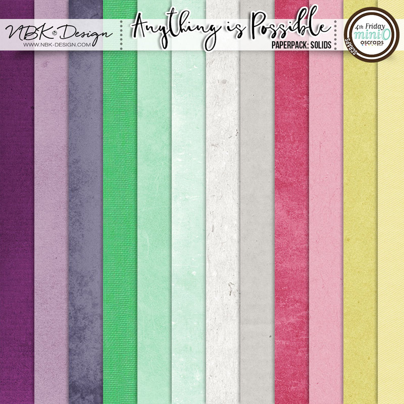 Anything is Possible {Paper-Set: Solids}