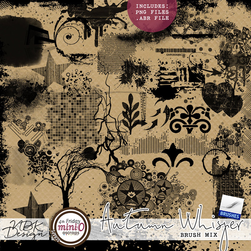 Autumn Whispers {Artsy Bits & Pieces Pack 2}