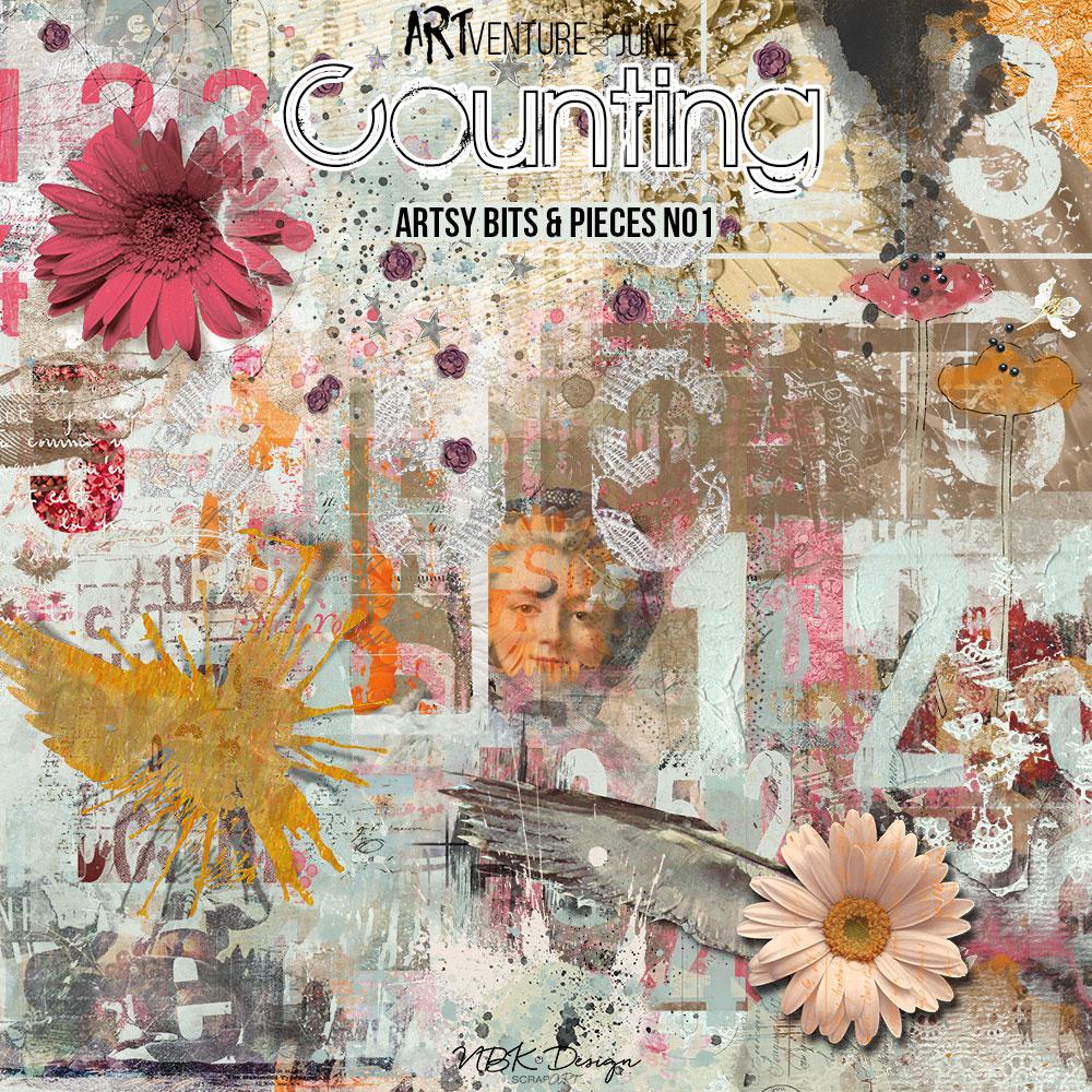 Counting {Artsy Bits & Pieces No1}