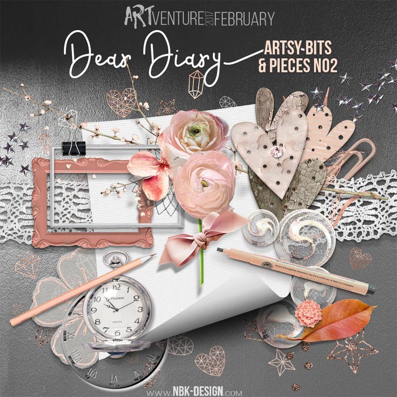 Dear Diary {Artsy Bits & Pieces No2}