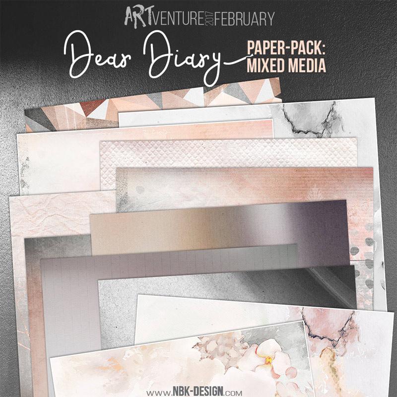 Dear Diary {Paperset: Mixed Media}