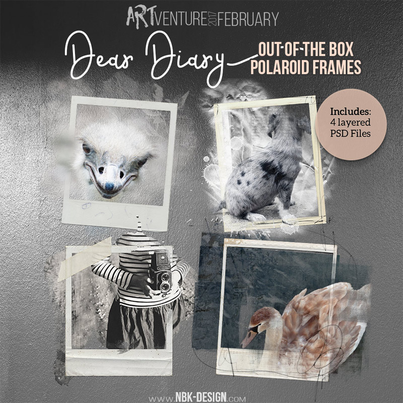 Dear Diary {Out if the box Polaroids}