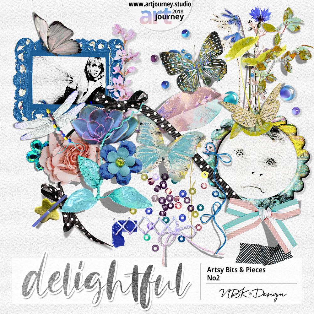 DELIGHTFUL {Artsy Bits & Pieces No.2}