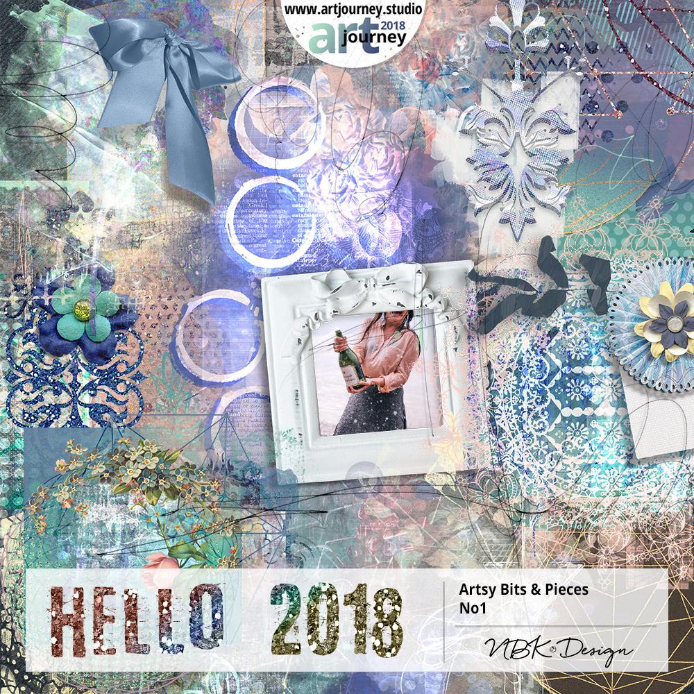 Hello 2018 {Artsy Bits & Pieces No.1}