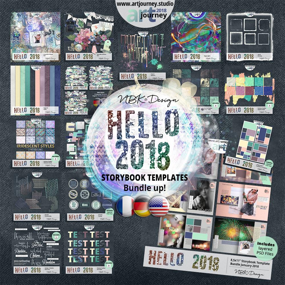 Hello 2018 {Bundle up! Storybook Version}