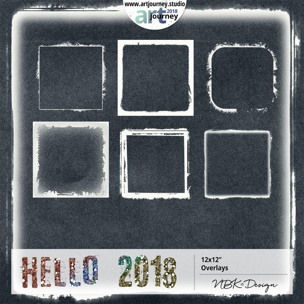 Hello 2018 {Overlays}