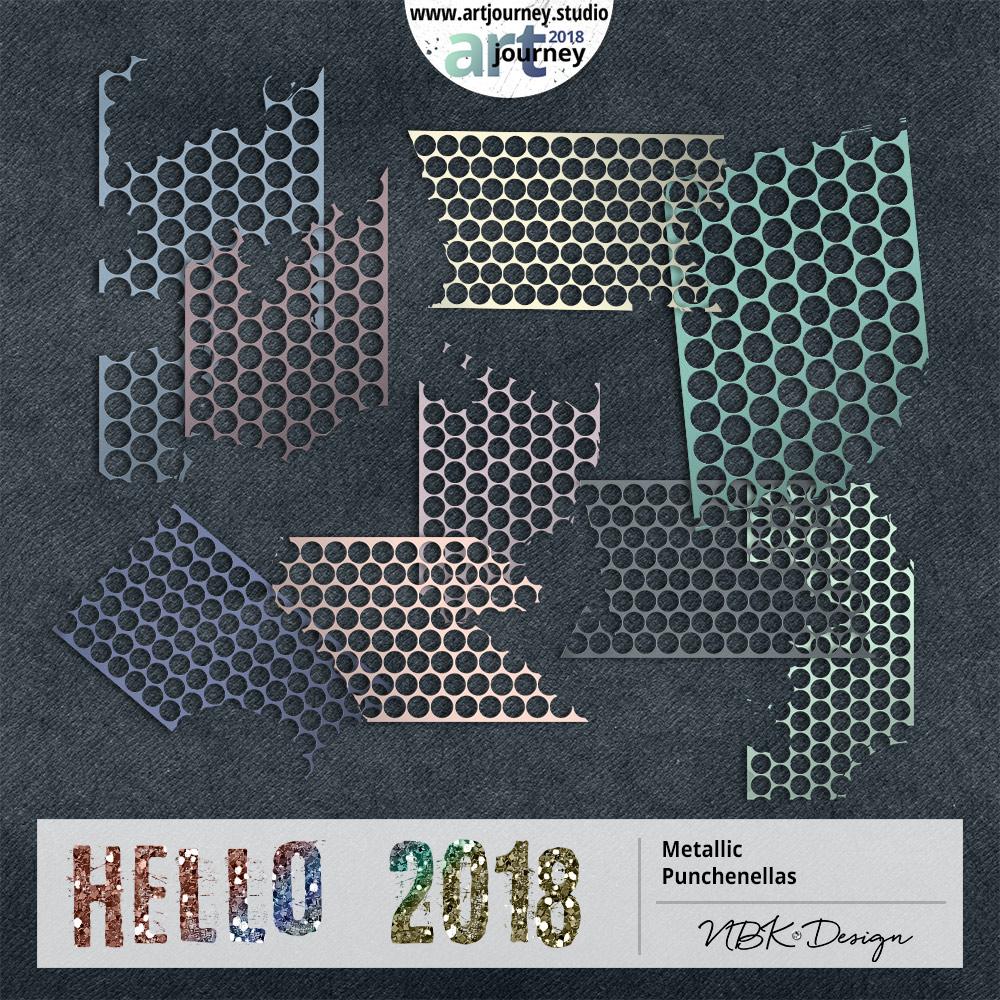 Hello 2018 {Punchinella}