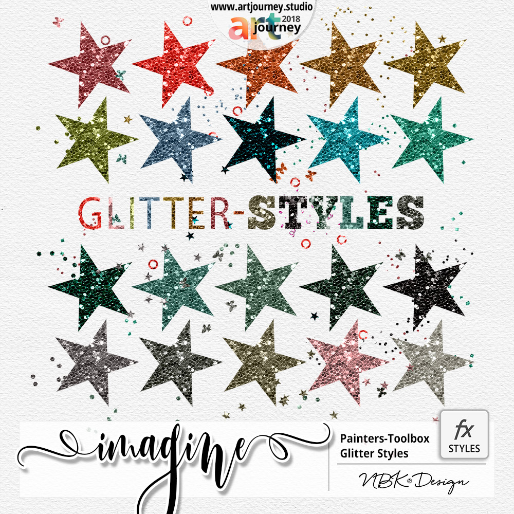 IMAGINE {Painters-Toolbox: Styles Glitter}