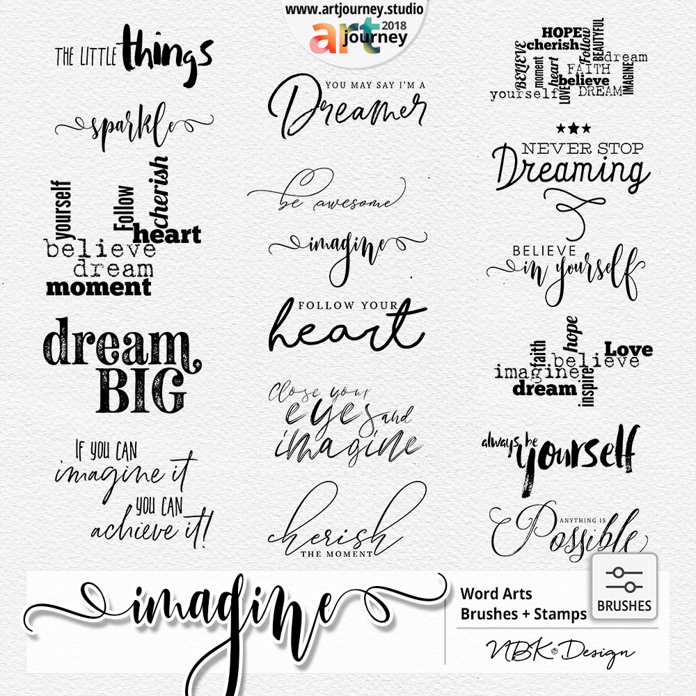 IMAGINE {Word Arts}