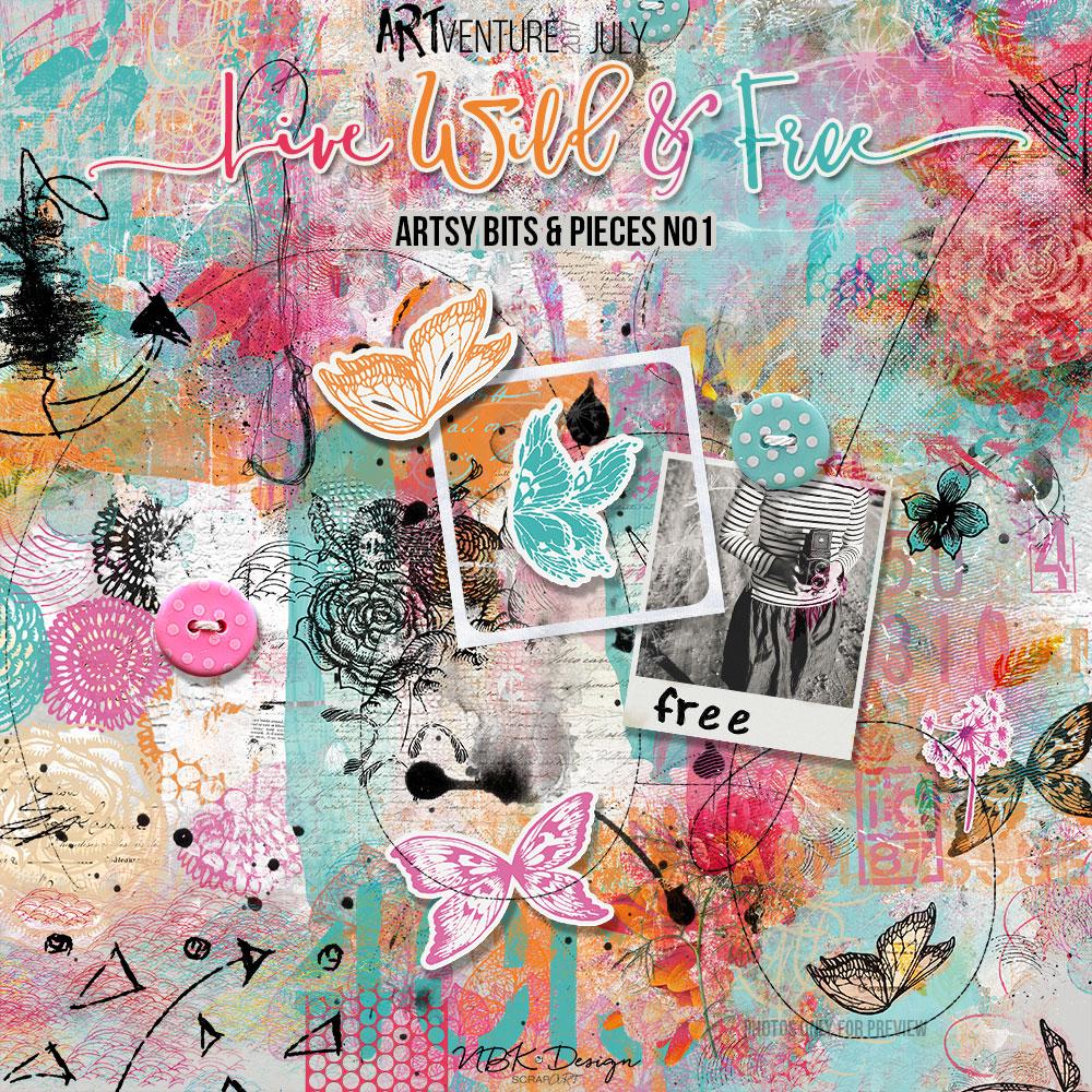 Live Wild & Free {Artsy Bits & Pieces No1}
