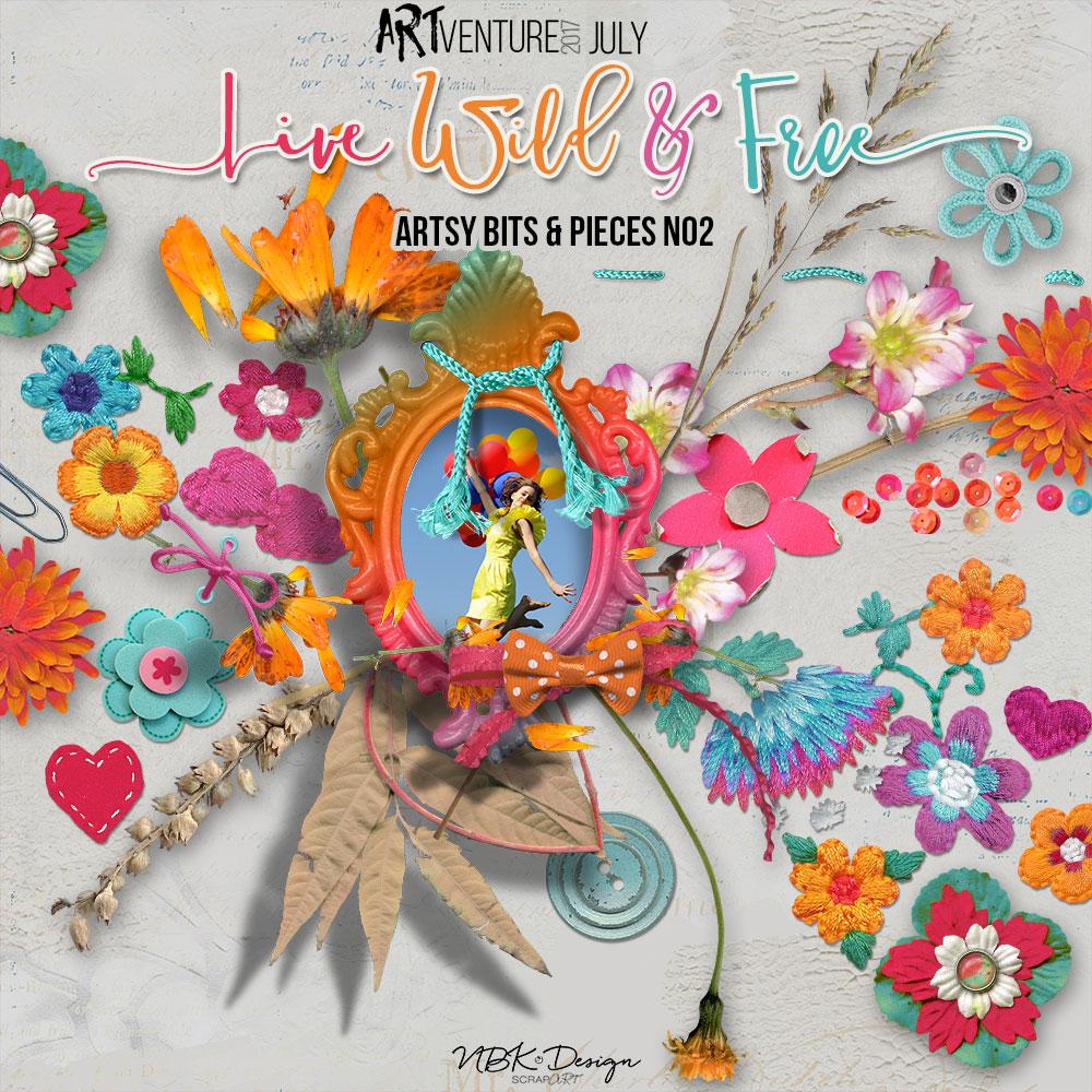 Live Wild & Free {Artsy Bits & Pieces No2}