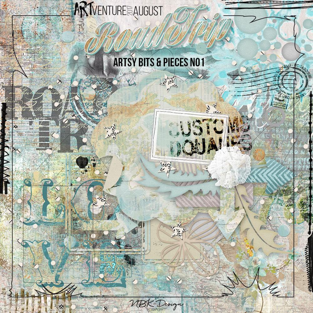 Roadtrip {Artsy Bits & Pieces No1}