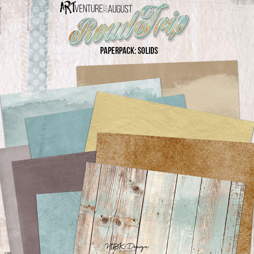 Roadtrip {Paper-Set: Solids}