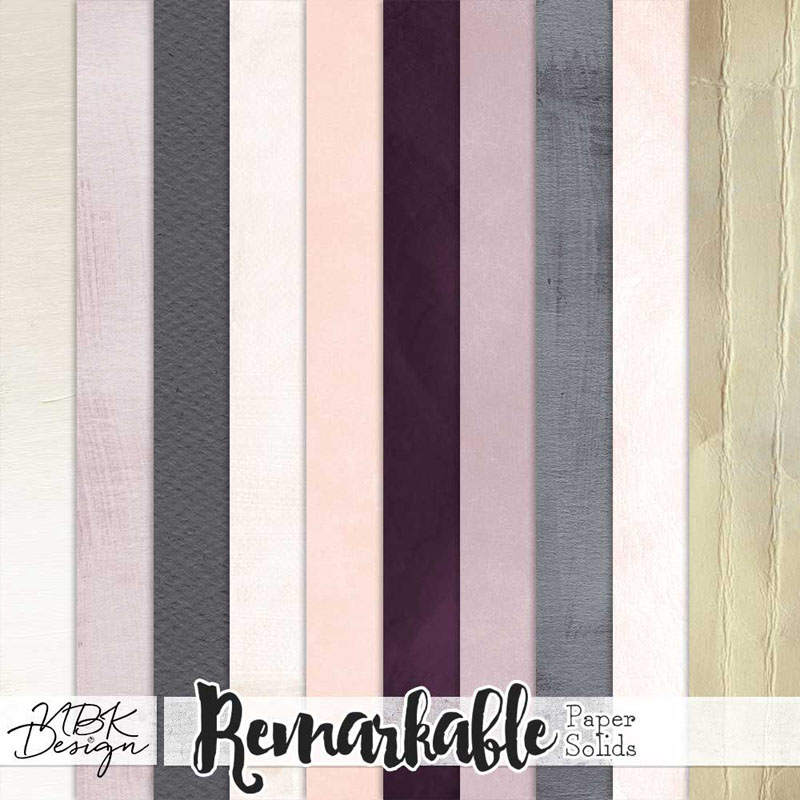Remarkable {Paper-Pack Solids}