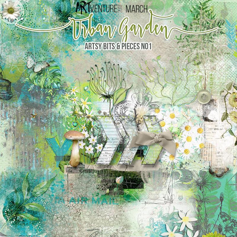 Urban Garden {Artsy Bits & Pieces No1}