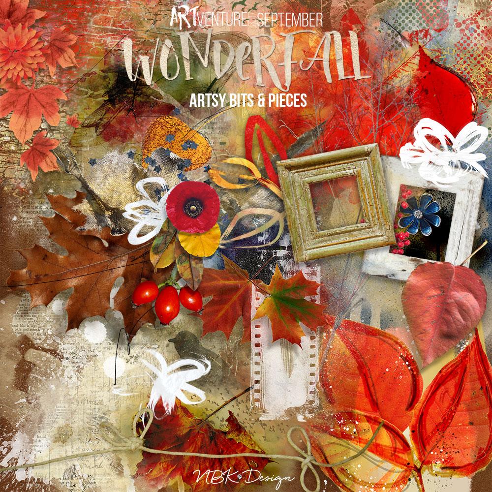 WonderFall {Artsy Bits & Pieces}
